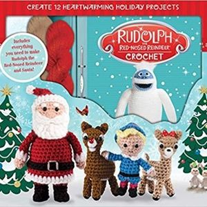 Rudolph the Red-Nosed Reindeer Crochet Kit - NIB